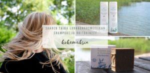 Saaren Taika luonnonkosmetiikan shampoot ja hoitoaineet kokemuksia