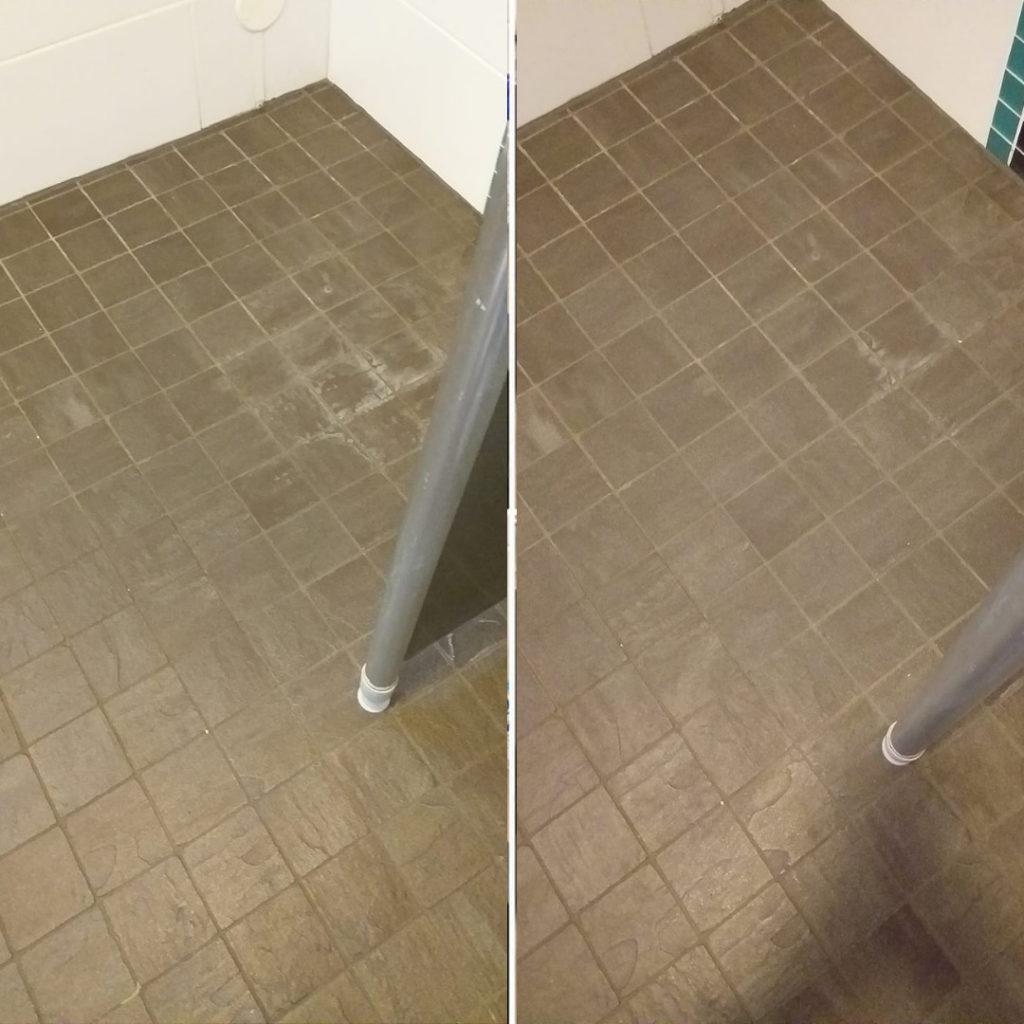 Kaakelit puhtaammaksi siivoussaippualla