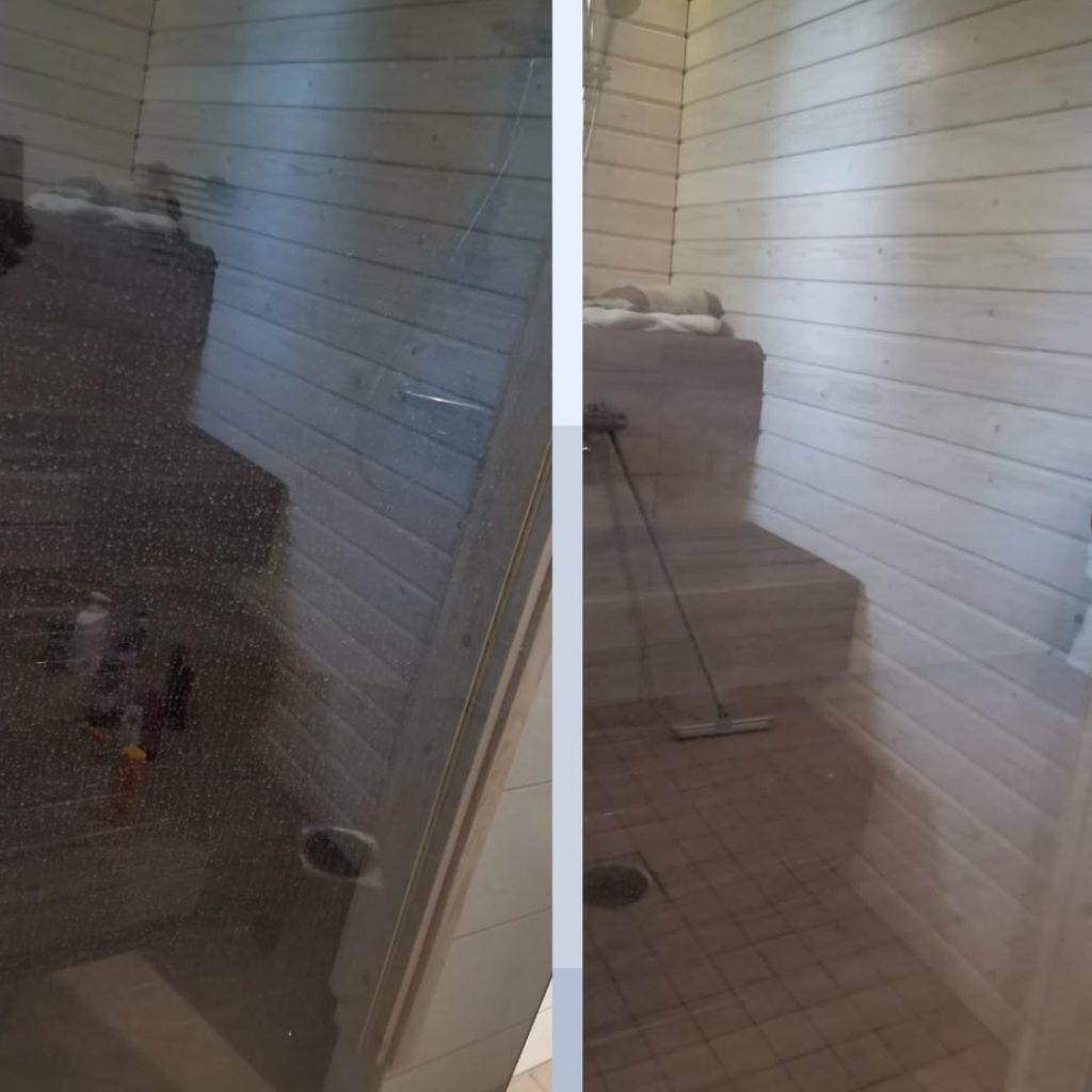 Saunanovi puhtaaksi siivoussaippualla