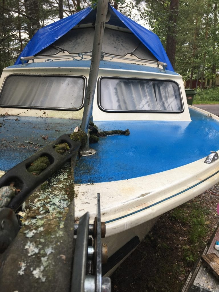 veneen pesu saaren taika siivoussaippualla