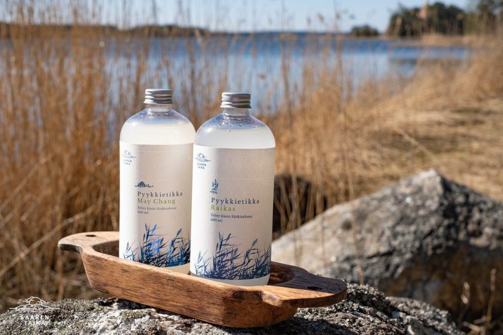 Saaren Taika luonnollinen saippua ekologinen pyykkietikka-2861