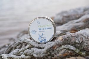 Chamomile and Shea Cream soothes itchy skin. It is especially well suited for treating rashes, insect bites, psoriasis, acne and eczema