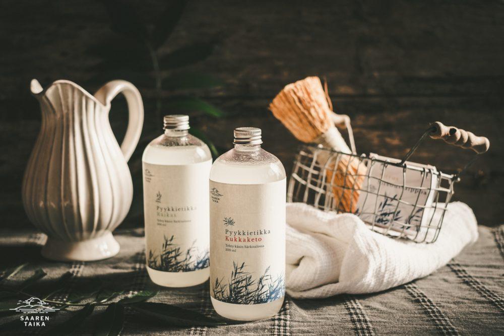 biohajoava huuhtewluaine saaren taika ekologinen pyykkietikka luonnollinen