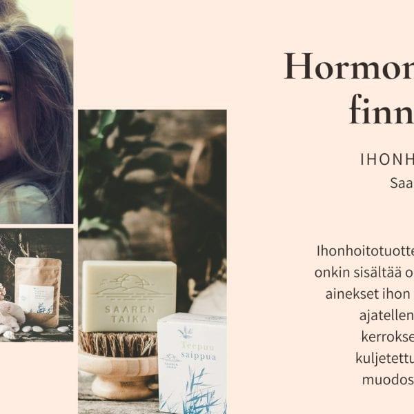 Hormoninäpyt, finnit, akne