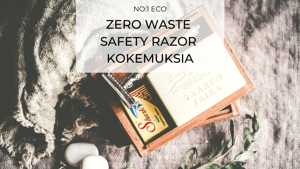 ZERO WASTE SAFETY RAZOR kokemuksia