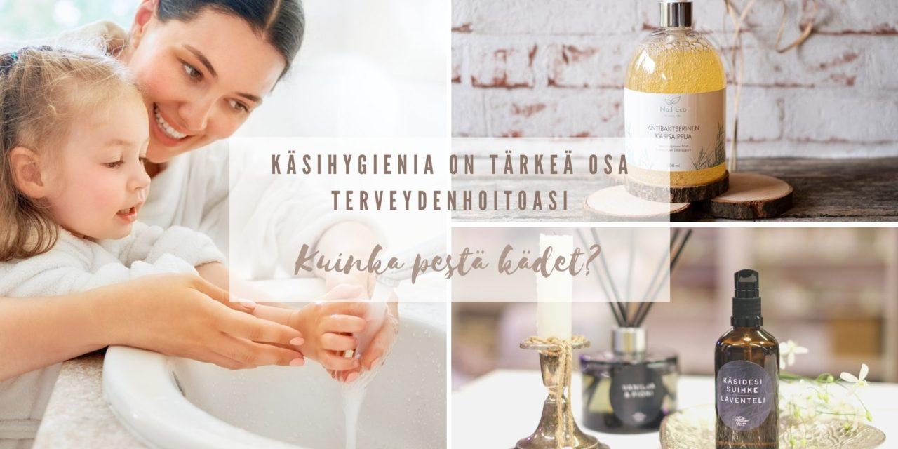 kuinka pestä kädet oikein Käsihygienia on tärkeä osa terveydenhoitoasi