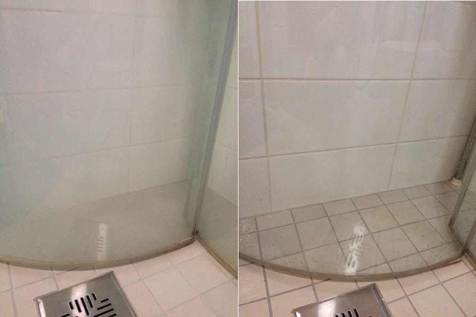 suihkukaappi puhtaaksi ekologisesti