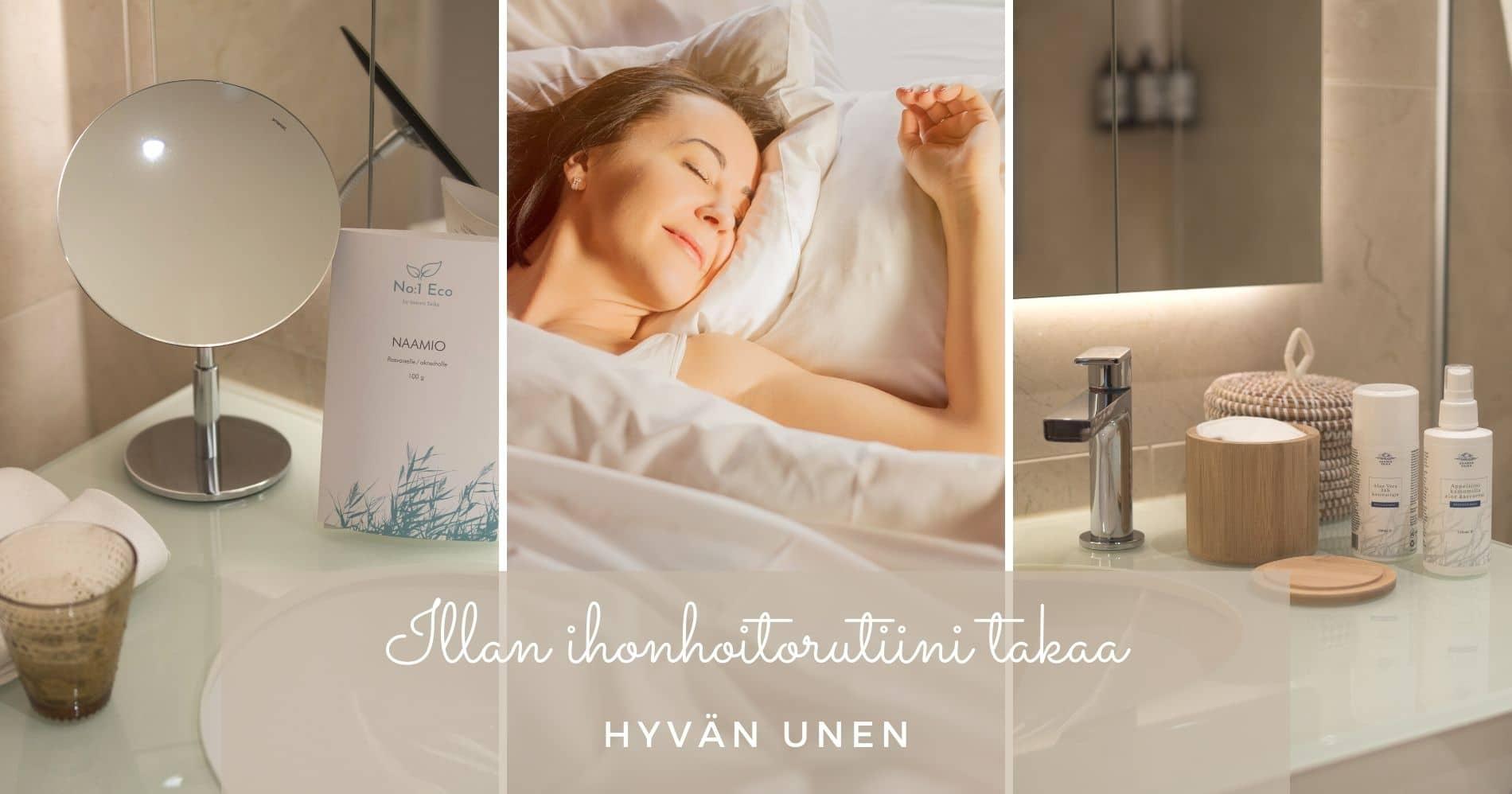 illan ihonhoitorutiini takaa hyvän unen saaren taika lifestyleblogi