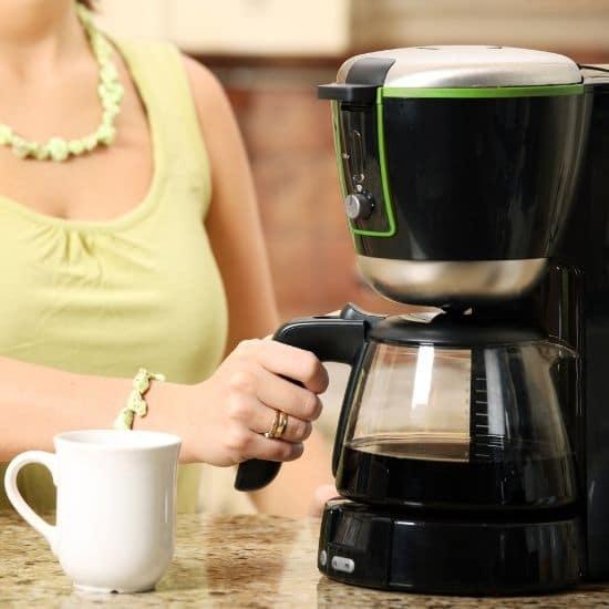 kahvinkeittimen puhdistus