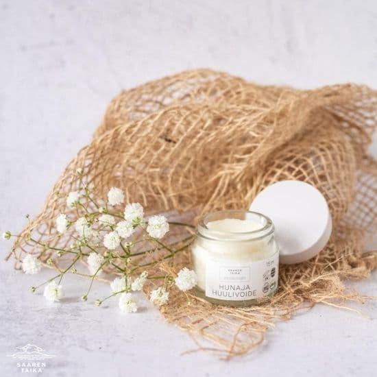Saaren Taika Ecolution Tehokkaasti kosteuttava ja hoitava hunaja huulivoide - Luonnollinen