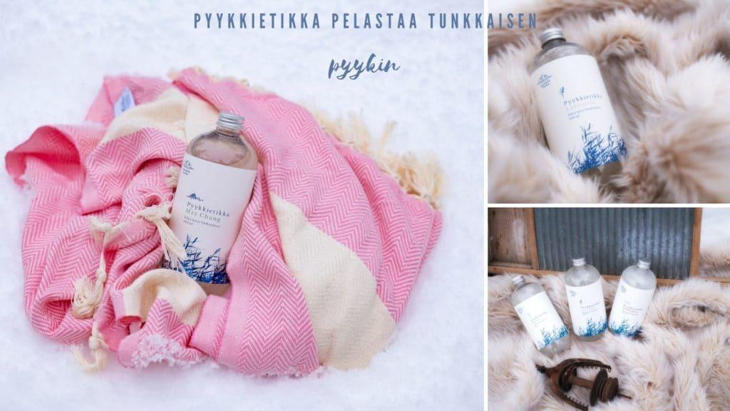 pyykkietikka pelastaa tunkkaisen pyykin