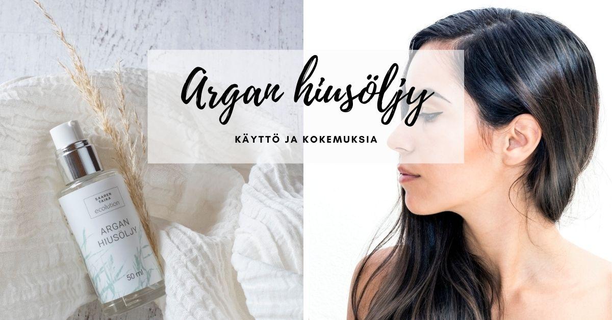 Argan hiusöljy käyttö ja kokemuksia