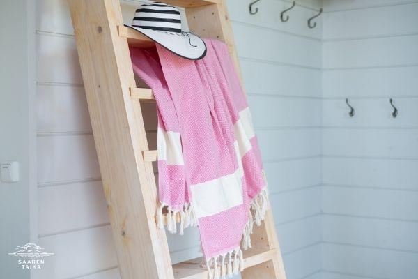 hamam-pyyhe rennosti mökillä