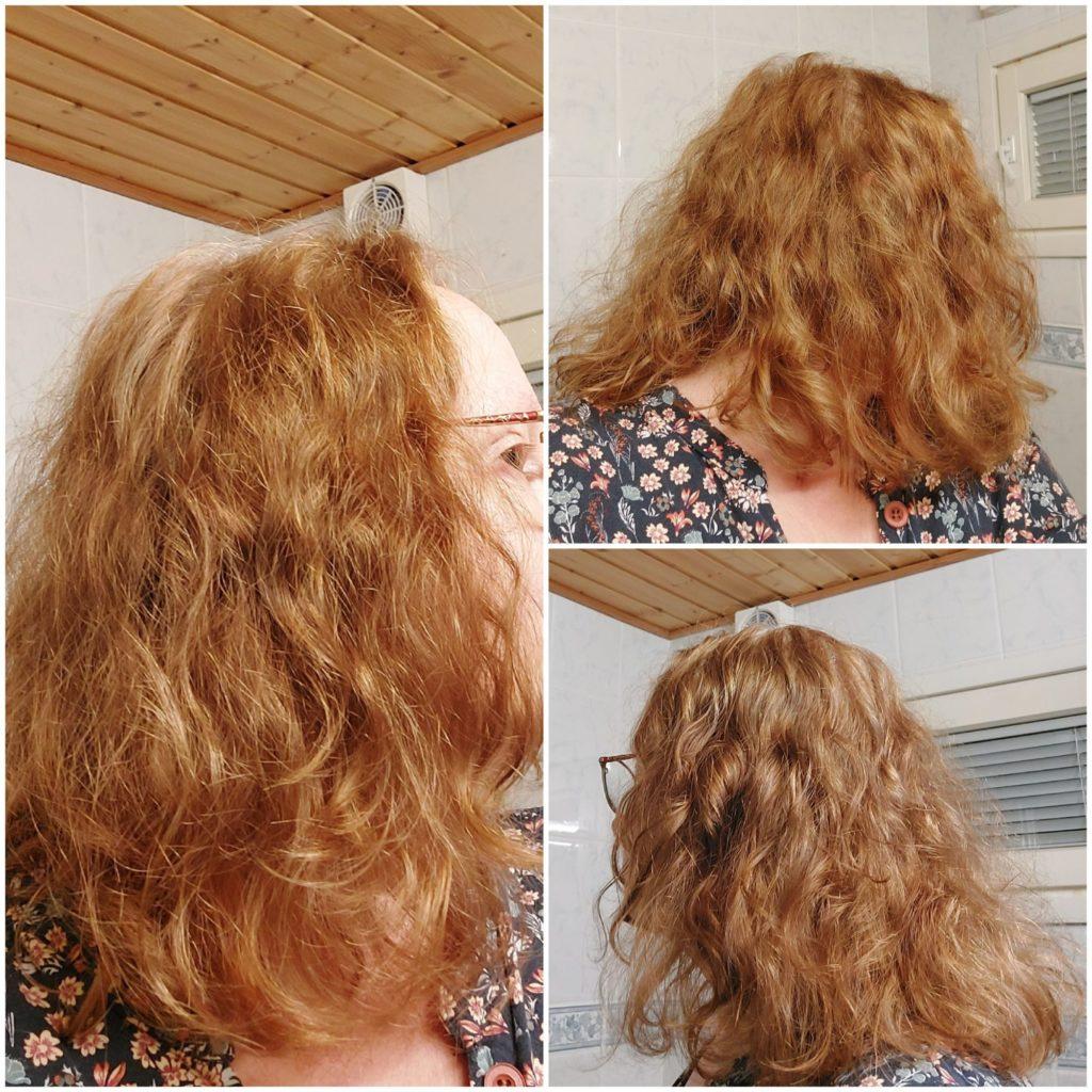 Saaren Taika curl care curly girl shampoo ja hoitoaine kokemuksia